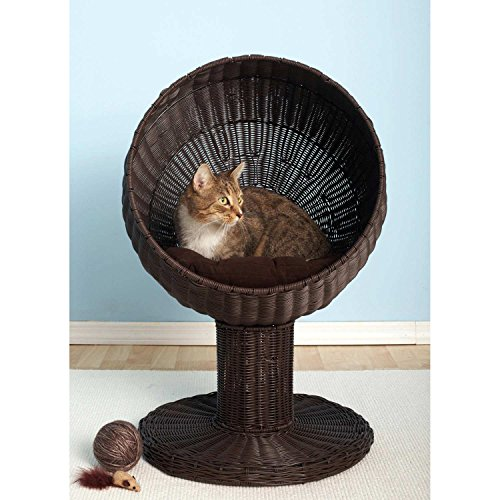Kitty-Ball-Rattan-Cat-Bed