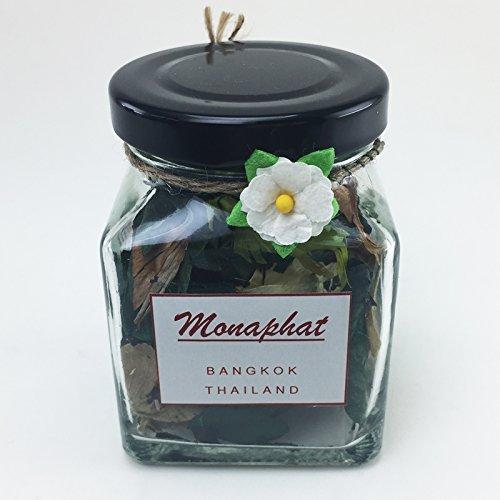 모나팟 레몬 향수 포푸리  PR-0105와 함께 아름다운 유리 병 디자인 장식
