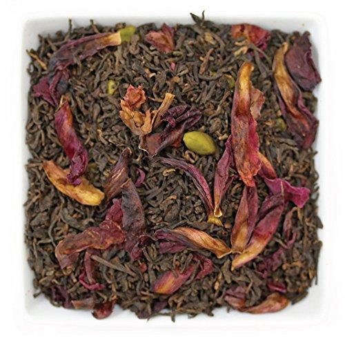 Tealyra - Sweet Pistachio Pu'erh - Wellness Loose Leaf Tea Blend - Bold Caffeine - Weight Loss Tea - 112g (4-ounce)