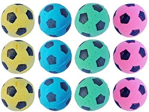 PETFAVORITES Foam Soccer Balls Cat Toys
