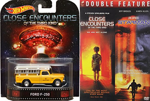 Close Encounters DVD & Ford F-250 Truck from the movie Close Encounters of the Third Kind Hot Wheels Sci-Fi Set Starman DVD Steven Spielberg Missions