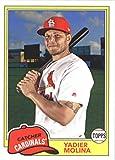 2018 Topps Archives #234 Yadier Molina St. Louis Cardinals Baseball Card