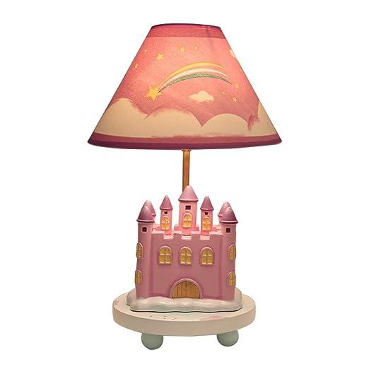 YU-K Lámpara de mesa infantil dormitorio lámpara de mesilla ...