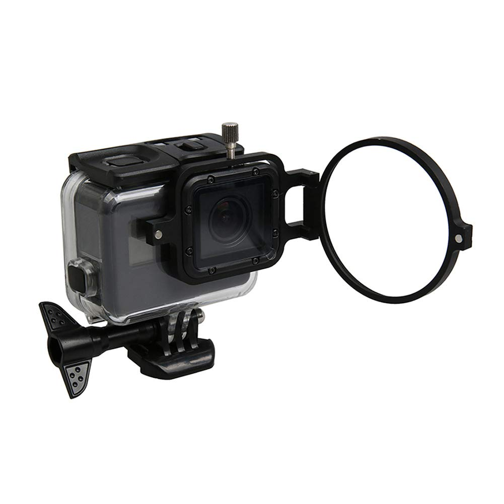 Hero 5 Camera Impermeabile Custodia Ingranditore Macro Filtro per GoPro Hero 7// Hero 6 Goyajun 58 MM Circolare 16X Close Up Ingrandimento Lente