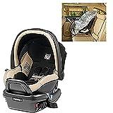 Peg Perego Primo Viaggio Infant 4 35 Paloma Leather Car Seat with Sunshade