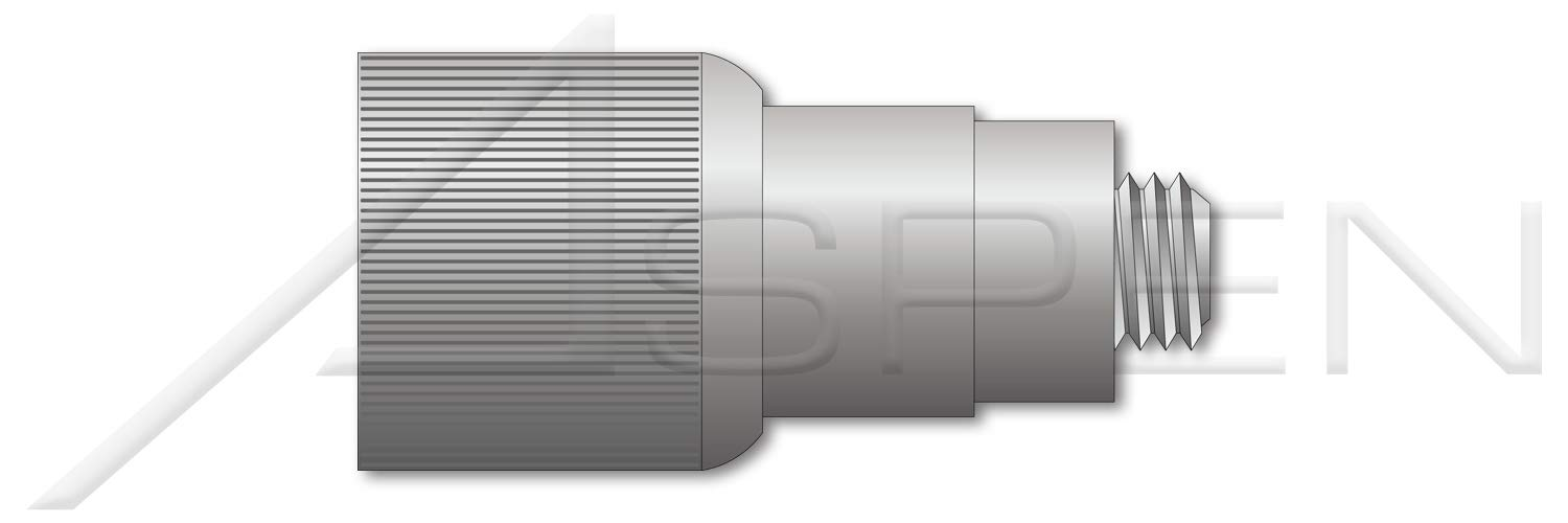 Retractable Captive Panel Fasteners Slotted Drive 20 pcs #6-32 X 0.43 Flare in Style THK=0.187 Natural Finish