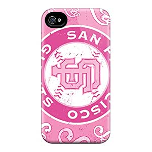 Hard Plastic Iphone 4/4s Case Back Cover,hot San Francisco Giants Case At Perfect Diy