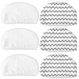 Best BISSELL Steam Mops - KEEPOW 6 Pcs Microfiber Steam Mop Pads Replacement Review