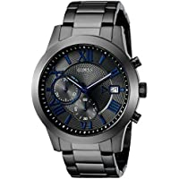 GUESS Men's U0668G2 Dressy Gunmetal Multi-Function Watch