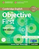 Objective First Student's Book with Answers with CD-ROM, Annette Capel and Wendy Sharp, 110762830X