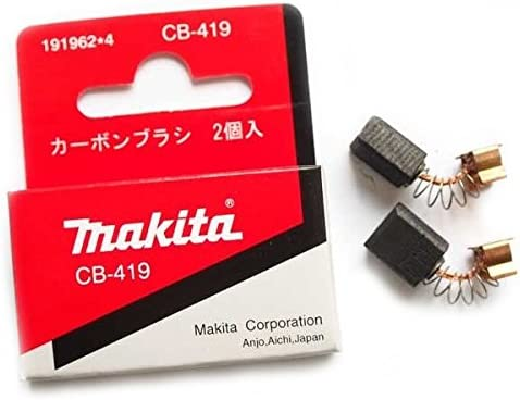 Jeu de charbon CB-419 Makita 191962-4