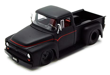 Jada  Ford F  Pickup Truck Black Toys Bigtime Muscle