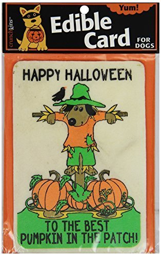 Crunchkins Crunch Edible Card, Happy Halloween, Best Pumpkin in Patch by Crunchkins ()