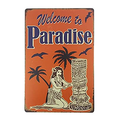 12x8 Inches Pub,bar,beverage,beer Series Wall Decor Hanging Metal Tin Sign Plaque