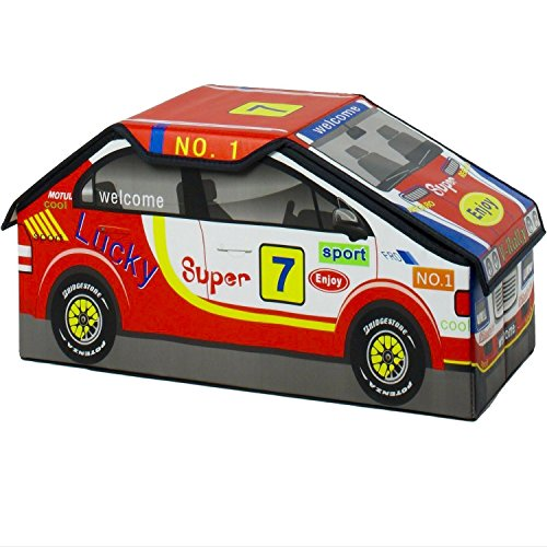 Rally Diecast Race Sports Car Box to Store NASCAR, F1, Hot Wheels, Motorcycles, Slot Car Track Sets and Indycar Toys for Kids, Boys and GT Racing