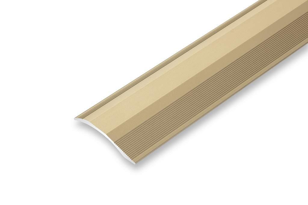 1000 mm, schwarz Rampenprofil Ausgleichsprofil /Übergangsprofil 45 x 1000 mm H/öhenausgleich von 2-20 mm