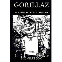 Gorillaz Art Therapy Coloring Book (Gorillaz Art Therapy Coloring Books)