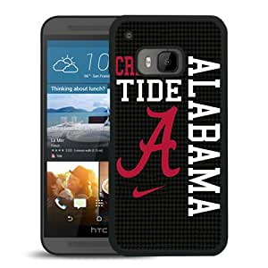 Hot Sell Alabama Crimson Tide Black Plastic HTC ONE M9 Protective Case