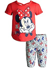 685a39b58 Minnie Mouse Baby Infant Toddler Girls  T-Shirt   Bike Shorts Set