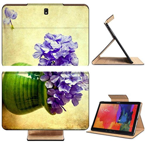 Phlox Flowers Green Ceramic Vase Samsung Tab Pro 12.2 Flip Case Stand Smart Magnetic Cover Open Ports Customized Made to Order Support Ready Premium Deluxe Pu Leather Luxlady Professional Graphic Background Covers Designed Model Folio Sleeve HD Template Designed Wallpaper Photo Jacket Wifi 16gb 32gb 64gb Luxury Protector