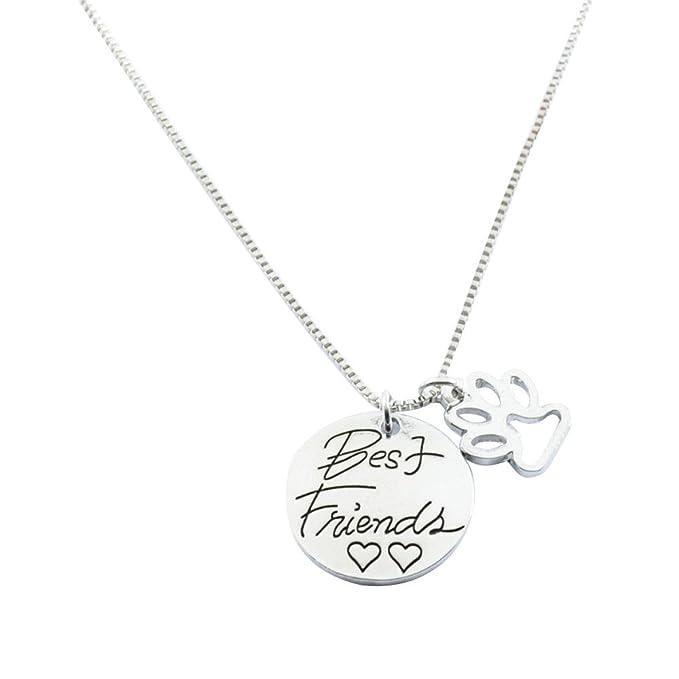 Staresen collares para mujeres Halskette cadena mejor amigo amor ...