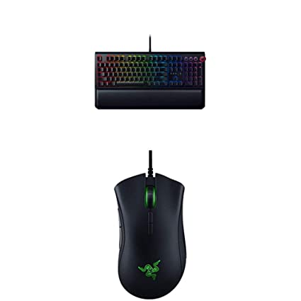 c3b099f9704 Amazon.com: Razer Blackwidow Elite Gaming Keyboard with Deathadder Elite  Gaming Mouse: Computers & Accessories