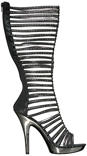 Ellie Chaussures Femmes M-stella Plate-forme Robe Sandale Noir