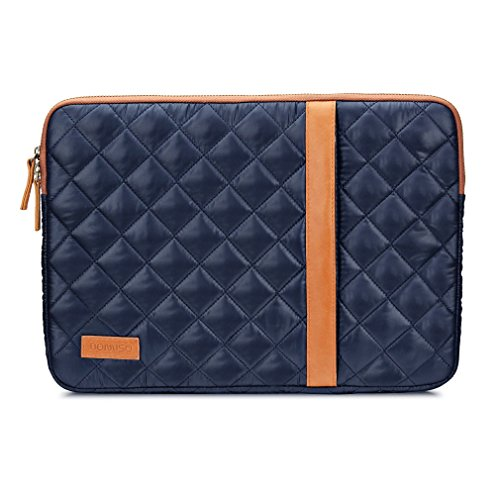 Switch Satellite Toshiba (DOMISO Nylon 11 Inch laptop Sleeve Double-ended Zipper Slim Notebook Soft Fluff Interior with Accessory Pocket for 11.6