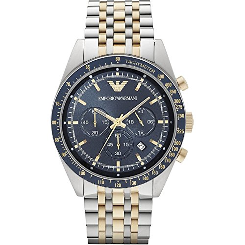 Emporio Armani Men's AR6088 Sport Two Tone Watch