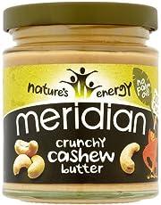 Meridian Crunchy Cashew Butter (170G) Gluten Free Vegan