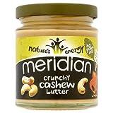 Meridian Foods Crunchy Cashew Butter 100% Nuts (170g)