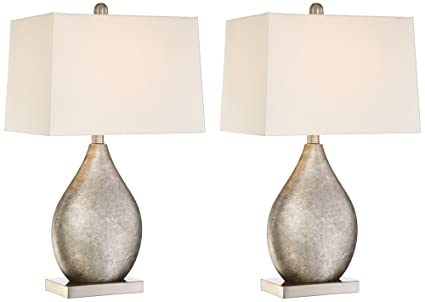 Royce teardrop metal table lamp set of 2 amazon royce teardrop metal table lamp set of 2 aloadofball Choice Image