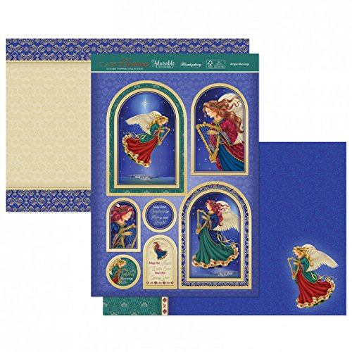 Hunkydory Classic Christmas- Angel Blessings List 3-pc Topper Collection