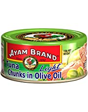 Ayam Brand Tuna Chunks in Olive Oil, Light, 150g