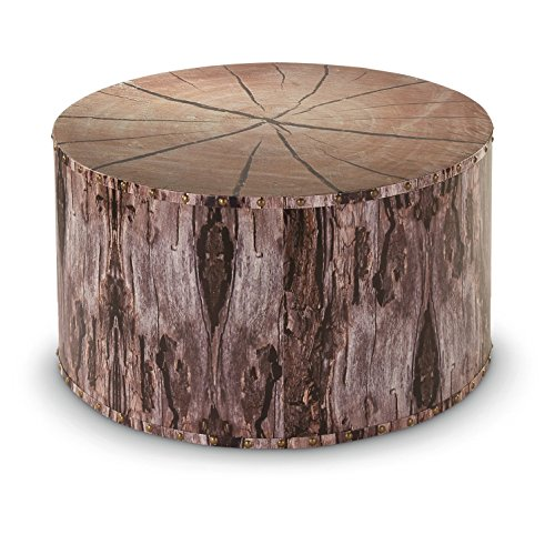 CASTLECREEK Tree Trunk Coffee Table