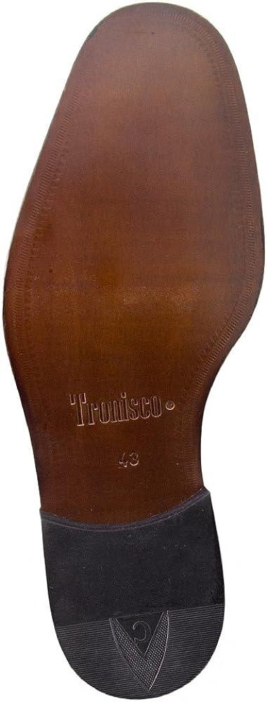 Masaltos Chaussures R/éhaussantes Pour Homme avec Semelle Augmentant la Taille Jusqu/À 7cm Mod/èle London Fabriqu/ées en Peau