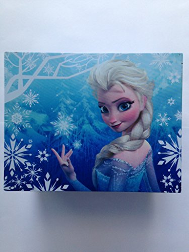 Frozen Elsa and Anna Music Jewelry Box, Blue (Frozen Jewlery)