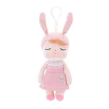 Juguete de peluche para niños con diseño de animales y muñecas, Y56 Kawaii Angela Rabbit