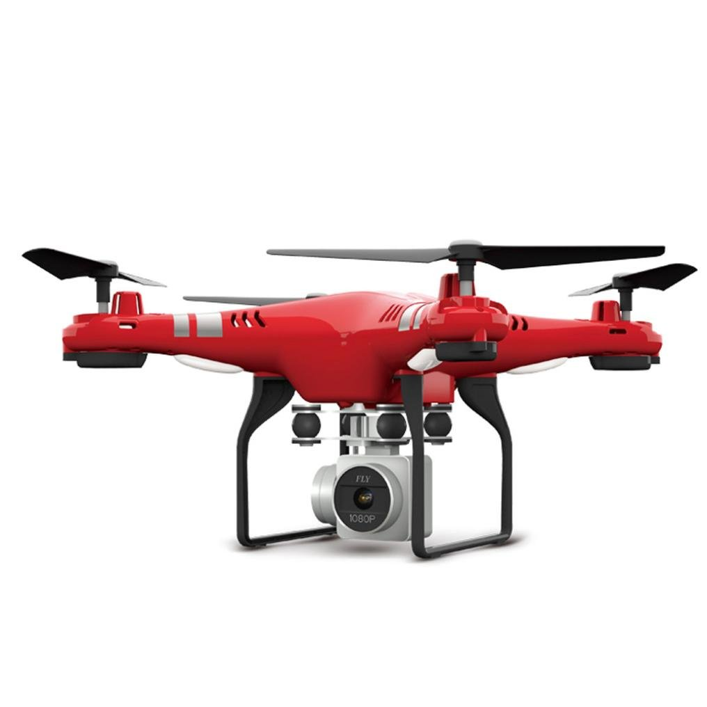 MMLC 2.4G Altitude Hold HD Camera Quadcopter RC Drone WiFi FPV Live Helicopter Hover (ROT)