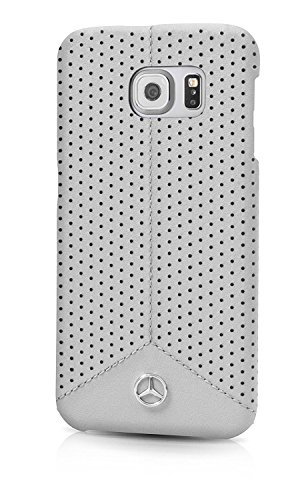 mercedes-pure-line-perforated-leather-hard-case-grey-samsung-s7-edge