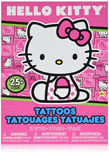 Hello Kitty Tattoos (Hello Kitty Temporary Tattoo Book - Great Girls Party Favor)