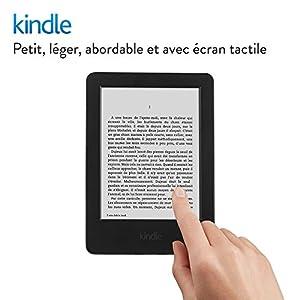 """Liseuse Kindle, écran tactile 6"""" (15,2 cm) antireflet, Wi-Fi (Noir) - Avec Offres spéciales (Génération précédente -7ème)"""