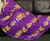 Los Angeles Lakers NBA''16 Times Champions'' Fleece Throw Blanket