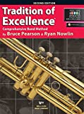 Tradition of Excellence by Bruce Pearson and Ryan Nowlin is a comprehensive and innovative curriculum designed to appeal to today s students. The music; the dynamic look; the scope and sequence; the tools for differentiated instruction; the smooth pa...