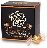 Willie's, Black Pearls, Apple Brandy Caramel Dark Chocolates