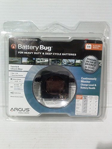 Argus BB-DCM12-90 Battery Bug Deep Cycle Battery Monitor for 20-90Ah Batteries