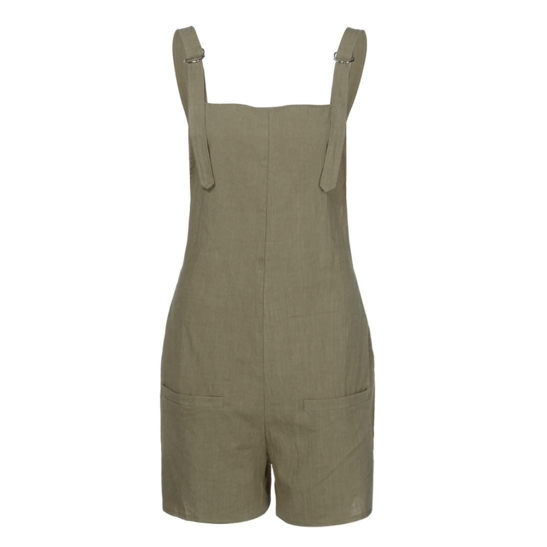 Amazon.com: Mono de trabajo para mujer con bolsillos y ...