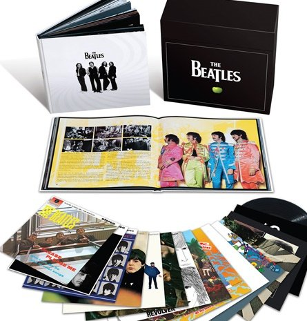 14 - Beatles, The - The Stereo Vinyl Box Set [16lp (14 Album)] (180 Gram, Remastered, 252-Page Hardbound Coffee Table Book) - Zortam Music