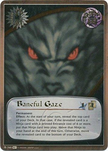 Naruto - Baneful Gaze 760 - Shattered Truth - Super Rare - Foil - 1st Edition