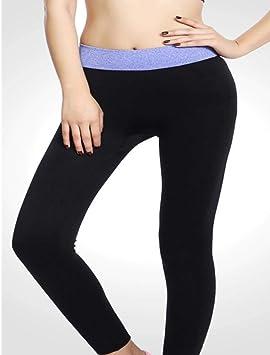 INITIALD Mallas de Cintura Alta para Mujer Pantalones de ...